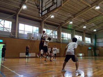 バスケットボール部の写真