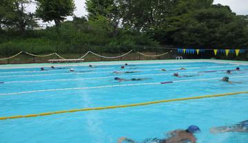 水泳部の写真